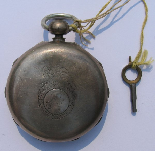 8: American Watch Co Key Wind Pocket Watch