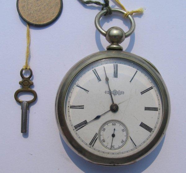 9: Illinois Key Wind Pocket Watch