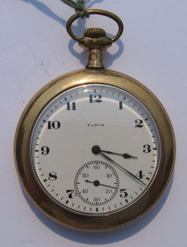 11: Elgin Pocket Watch