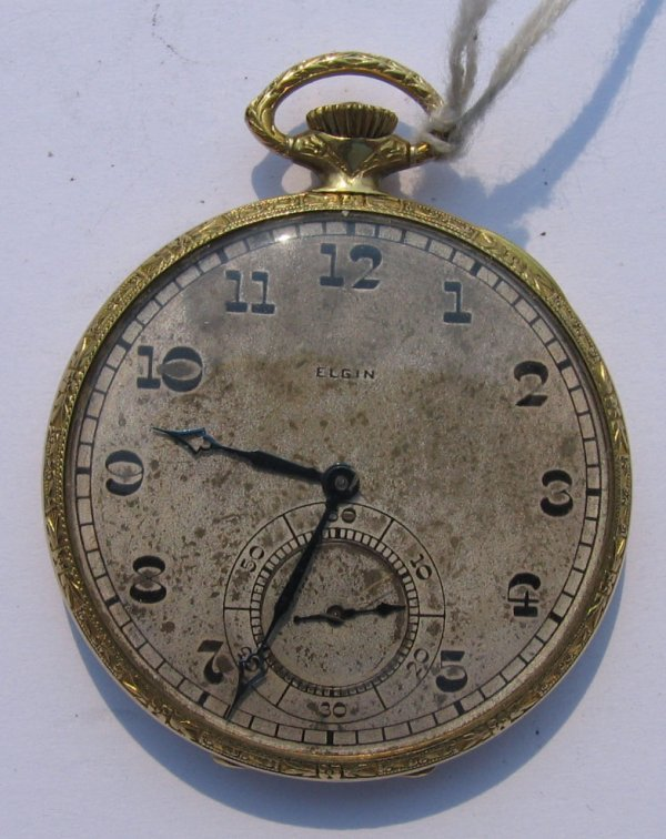 12: Elgin G.M Wheeler Model Pocket Watch