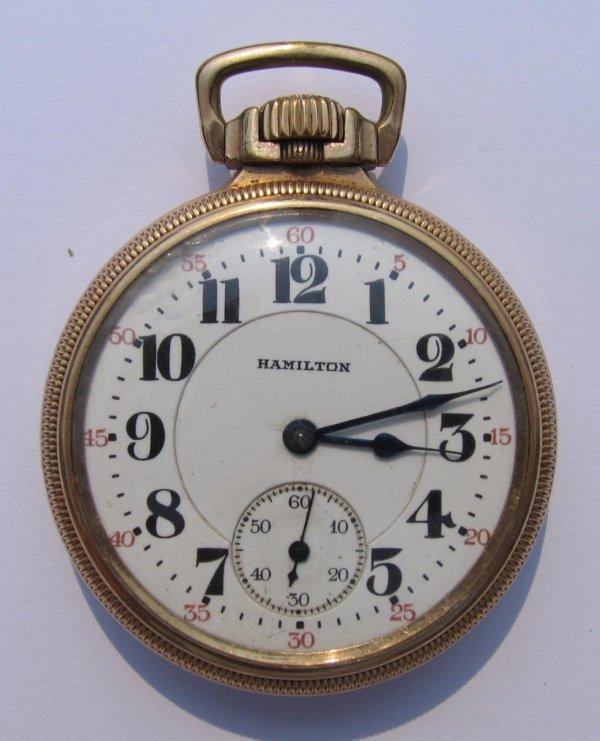 18: Hamilton Watch Co Pocket Watch, 21 Jewels