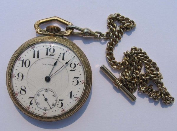 21: Waltham 21 Jewels Pocket Watch