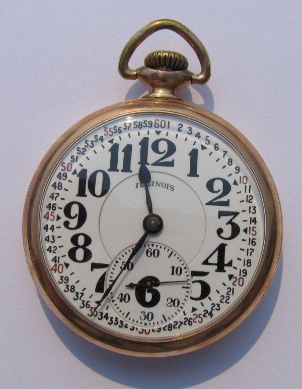 22: Illinois Railroad Special Pocket Watch