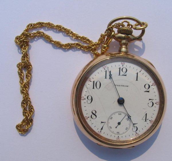 23: American Waltham Watch Co. Pocket Watch