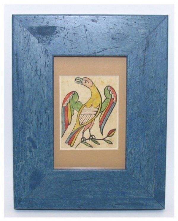 250: Illuminated Woodblock Watercolor, David Bixler