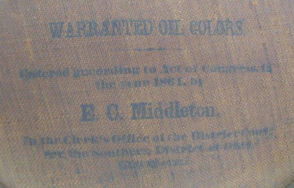 409: E.C. Middleton Chromolithograph Washington,1864 - 3