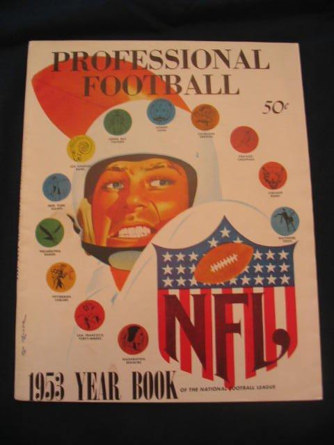 1002: 1953 National Football League Year Book