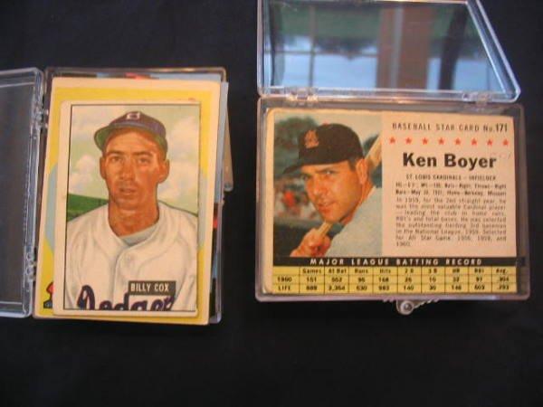1004: (3) Baseball Card Lots, Vintage, Star & Rookie