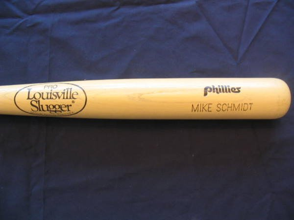1008: Mike Schmidt Philadelphia Phillies Baseball Bat