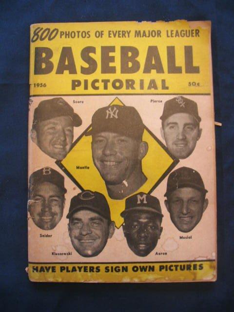 1010: 1956 Baseball Pictoral Publication