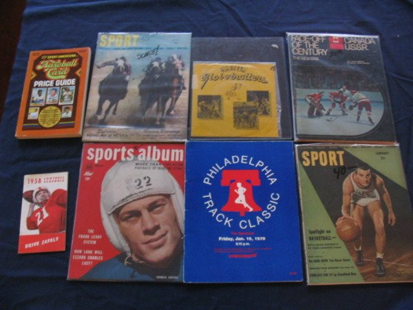 1016: Sports Collection of (8) Great Items