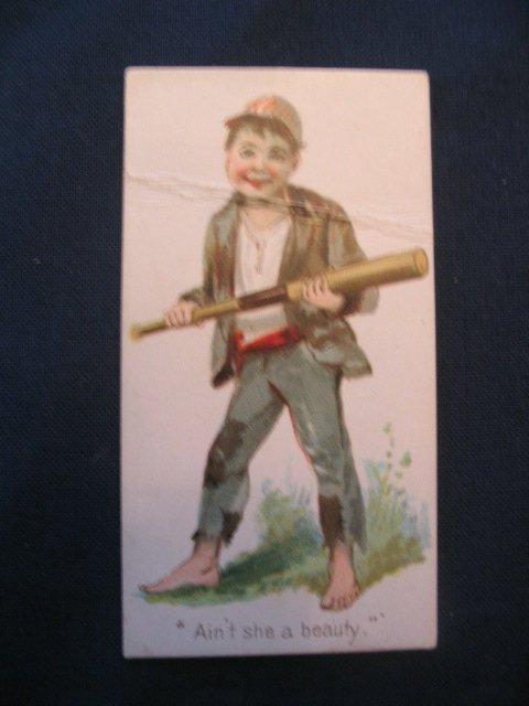 "1024: 1887 ""Terrors of America"" Baseball Card"