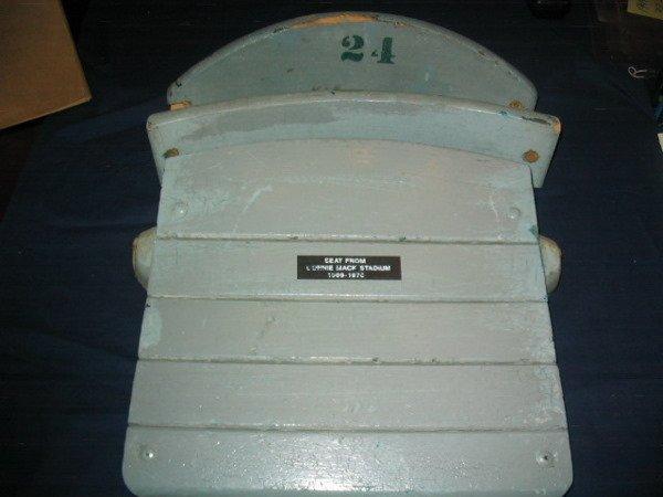 1314: Connie Mack Stadium Seat & Back Slats