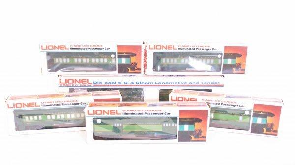 1001: Lionel Southern Crescent Locomotive Train Set O/B
