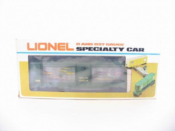 1002: Lionel Traveling Aquarium 6-9308 Specialty Car O/