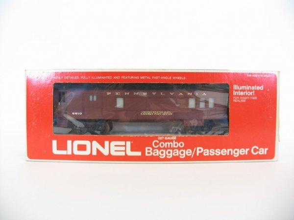 1007: Lionel Combo Baggage/Passenger Car 9510 O/B