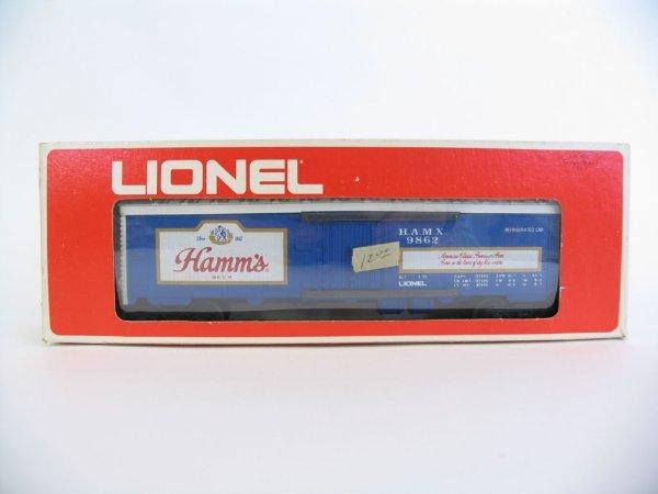 1012: Lionel Hamm's Billboard Reefer Car 6-9862 O/B