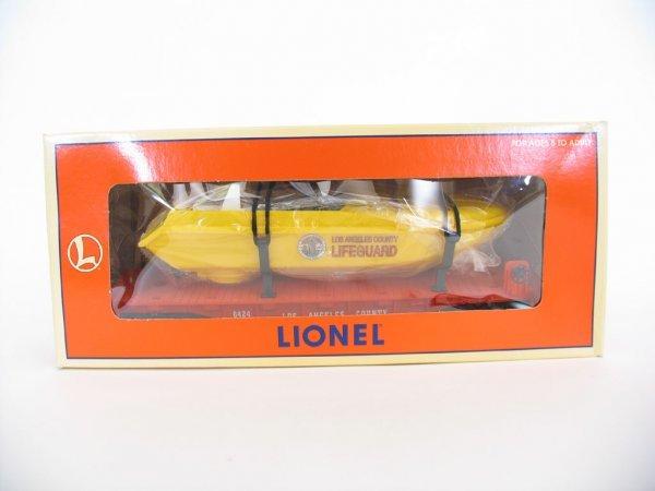 1016: Lionel L.A County Flatcar w/Lifeguard Speedboat