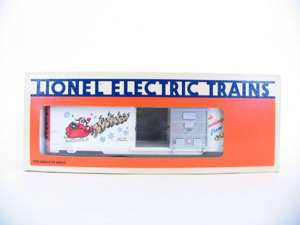1024: Lionel 1989 Christmas Car 6-19908, Orig. Box