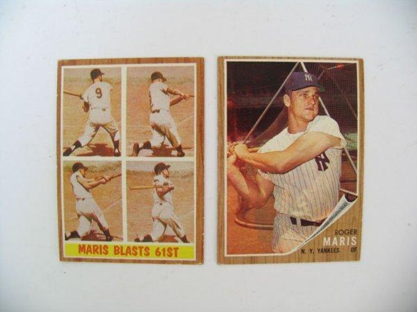 2007: Roger Maris High Grade 1962 Topps Card #1