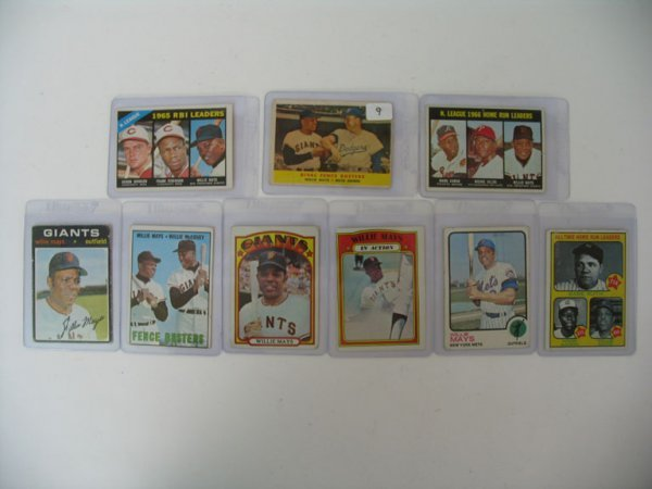 2009: Willie Mays Vintage Baseball Card Collection