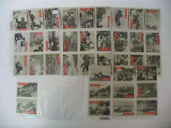 2010: WAR BULLETIN 1965 Philly Partial Set of (38)