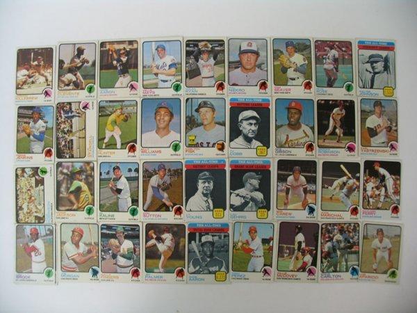 2011: 1973 Topps Baseball Card HOF Player Grouping