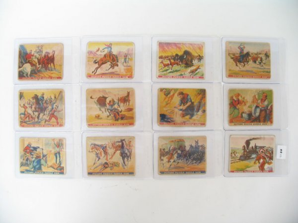 2012: Wild West Series 1937 Gum Inc. Cards Collection