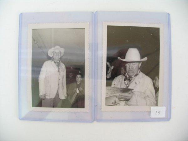 2015: JIM THORPE Real Photo's Grouping of (2)