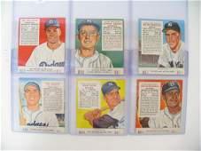 2016: 1952-55 Red Man Tobacco HOF & Star Cards