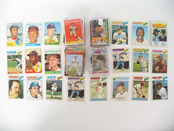 "2018: Baseball Card Lot of More Than ""125"""