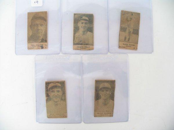 2019: 1925 W590 Hall of Fame Baseball Player Card Lot