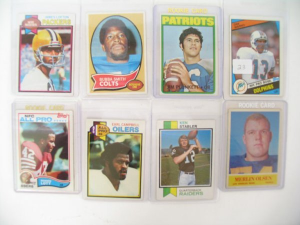 2023: ROOKIE Football Card Lot of (8) Different