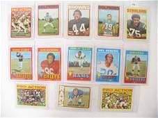 2199 1971  1972 NFL HOF Player Football Cards