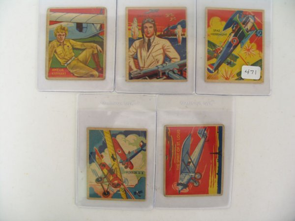 2471: Sky Birds 1933-34 National Chicle High Numbers