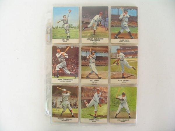 2479: 1961 Golden Press Baseball Cards