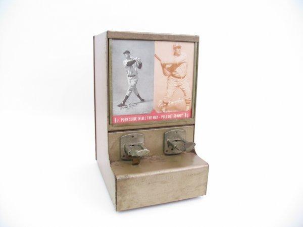 1: Exhibit Supply Co. Baseball Vending Machine