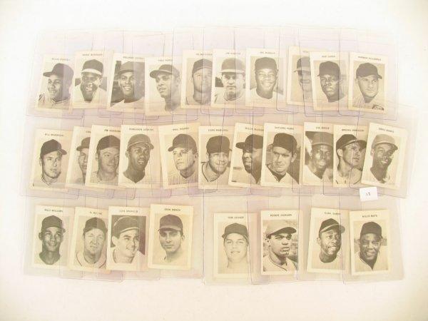 11: 1969 Milton Bradley Baseball Card Hall of Fame