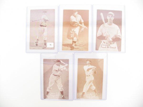 18: Salutation Exhibit Baseball Cards