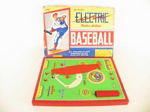 20: Jim Prentice Electric Motor Action Baseball Game