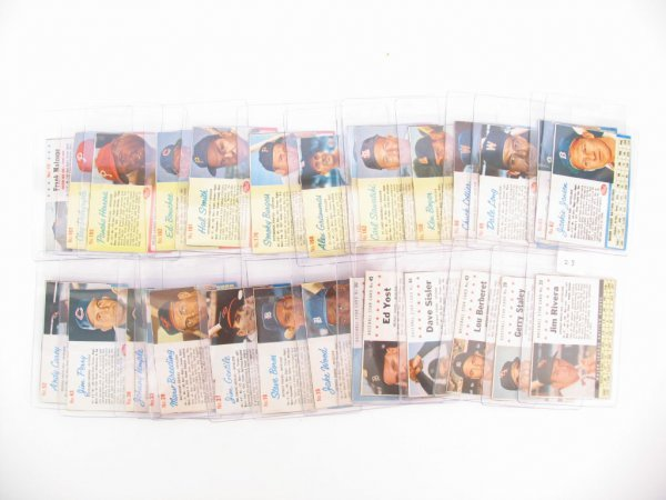 23: 1961-1963 Post Cereal Baseball Card Collection