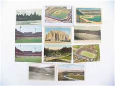 60: Great Collection of Vintage Sport's Postcards