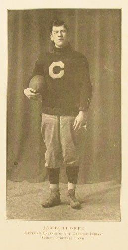 316: Jim Thorpe CARLISLE INDIANS Program