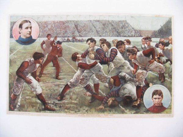 351: 1897 Pennsylvania vs. Harvard Football Game