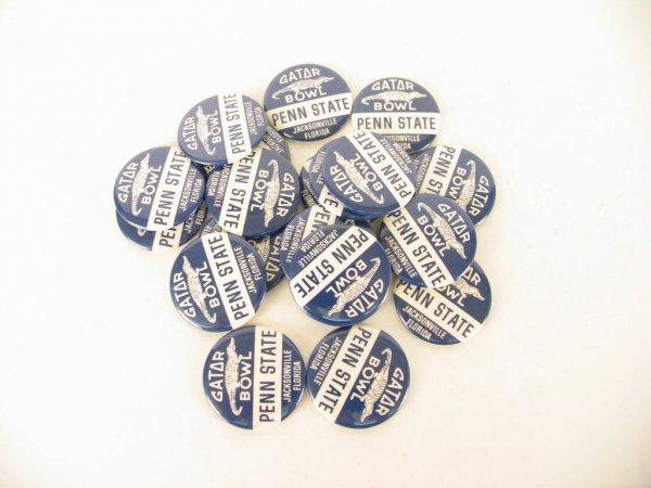 1004: Penn State University 1961 Gator Bowl Buttons