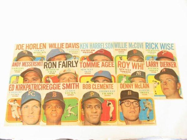 1005: 1970 Topps Posters Near Set
