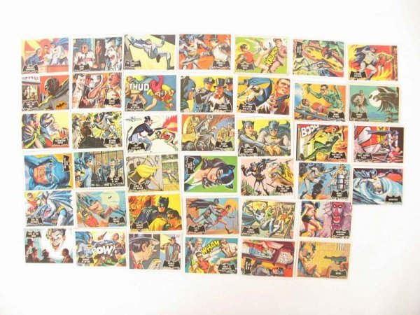 1011: 1966 Topps Batman Orange Back Cards