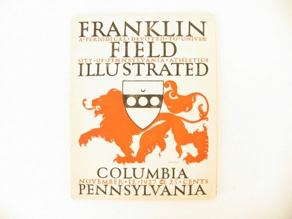 1014: Columbia vs. Pennsylvania Football Program
