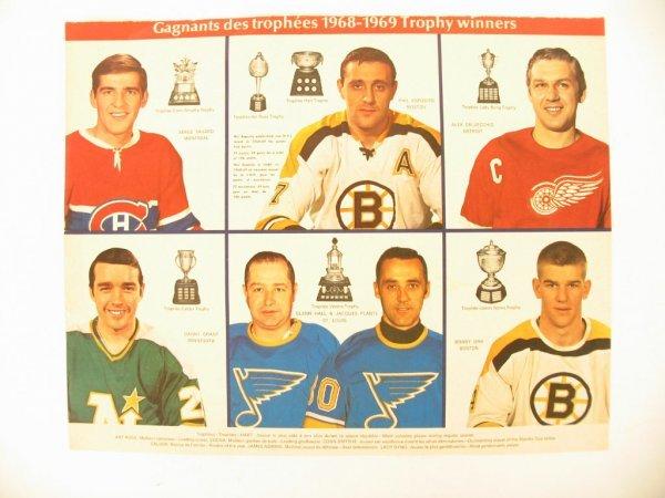 1015: 1968-69 National Hockey League Winners