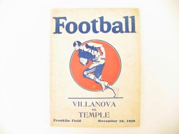 1019: Villanova vs. Temple at Franklin Field Program